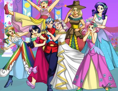 Commission: MLP Royal Wedding