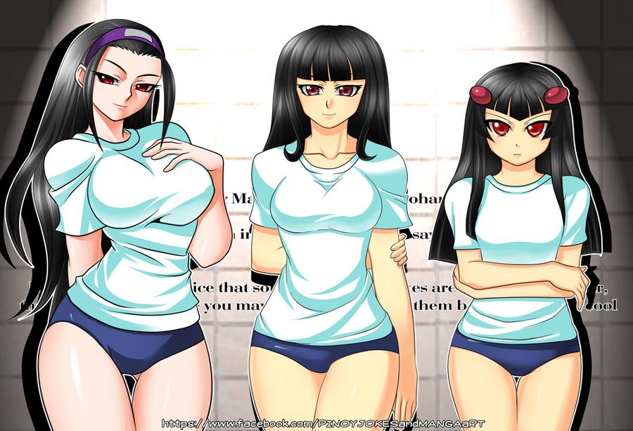 Artwork : Class Council Girls Gym Wear by jadenkaiba