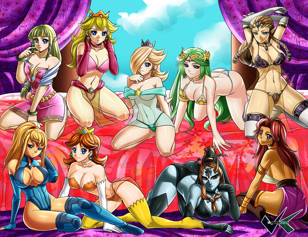 Hentai nintendo princesses #4