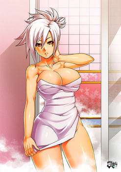 COMMISSION: Shower Time with Riven