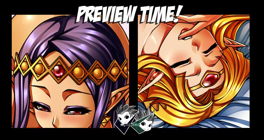 COMMISSION: Zelda and Hilda Part 3 by jadenkaiba