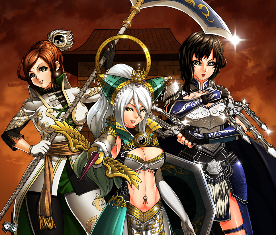 Warriors Orochi 3 Wallpaper: COMMISSION: Dynasty Warrior Angels By Jadenkaiba On DeviantArt