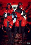 COMMISSION : Demon Girls