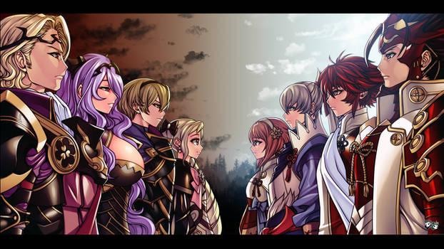 Fire Emblem Fates - Nohr VS Hoshido Civil War