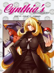 MANGA COMMISSION: Cynthia's Trainer Intro
