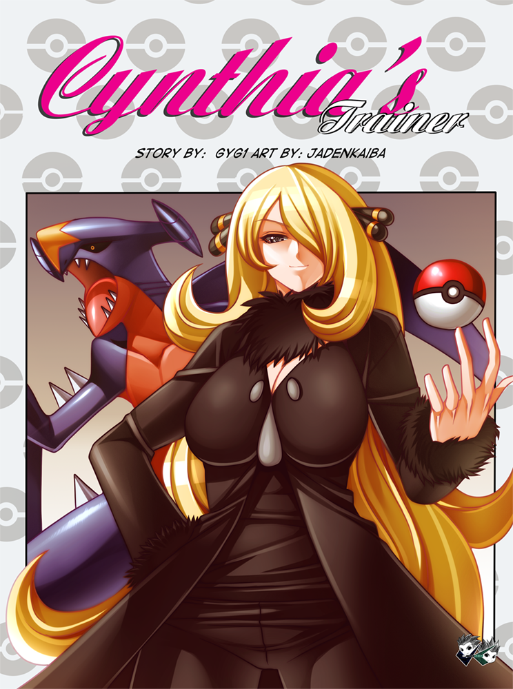 MANGA COMMISSION: Cynthia's Trainer Intro by jadenkaiba