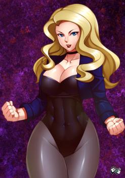 DC GIRLS: Black Canary