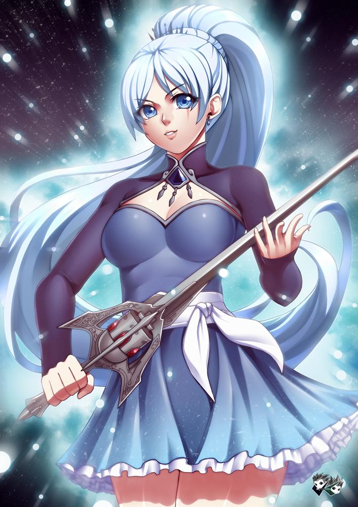 RWBY Vol 4 - Super Saiyan Blue Weiss Schnee