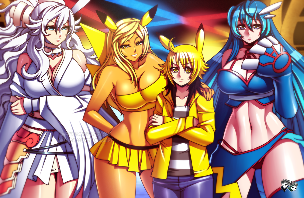 COMMISSION: Lightning Bolt Club by jadenkaiba
