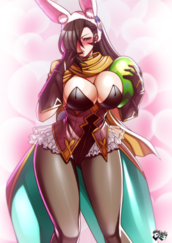 Fire Emblem Fates - Easter Bunny  Kagero