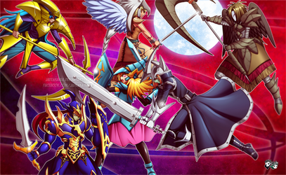 COMMISSION: Yu-Gi-Oh! Battle!