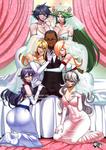 COMMISSION: Smash Girls Harem