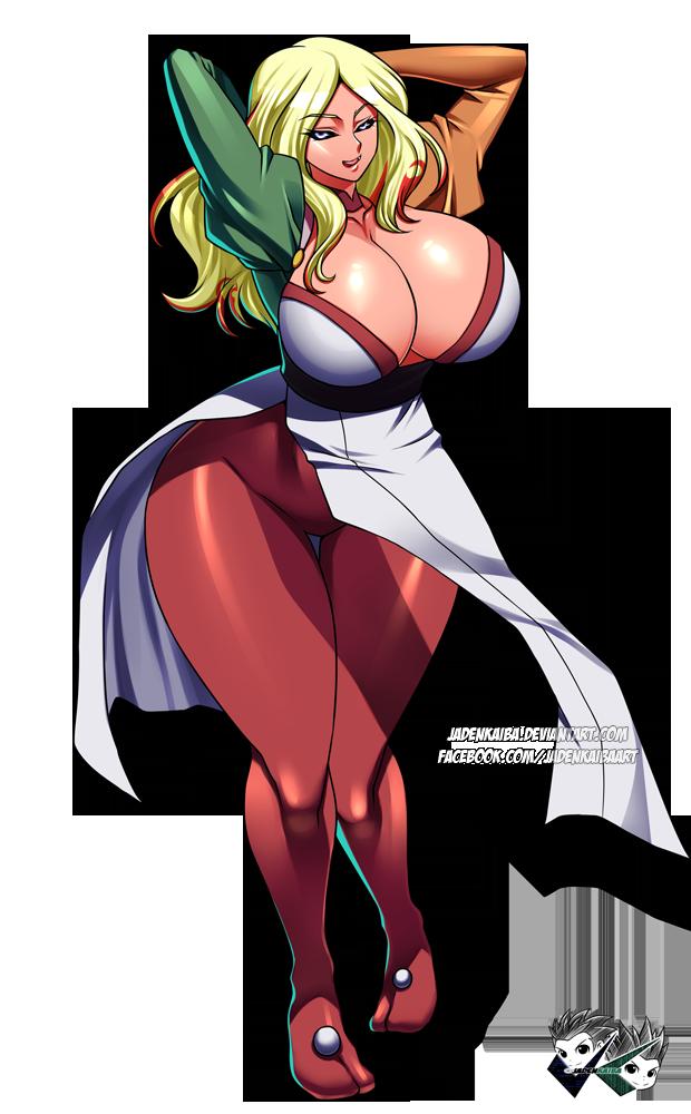 COMMISSION: Eve as Ryoko by jadenkaiba
