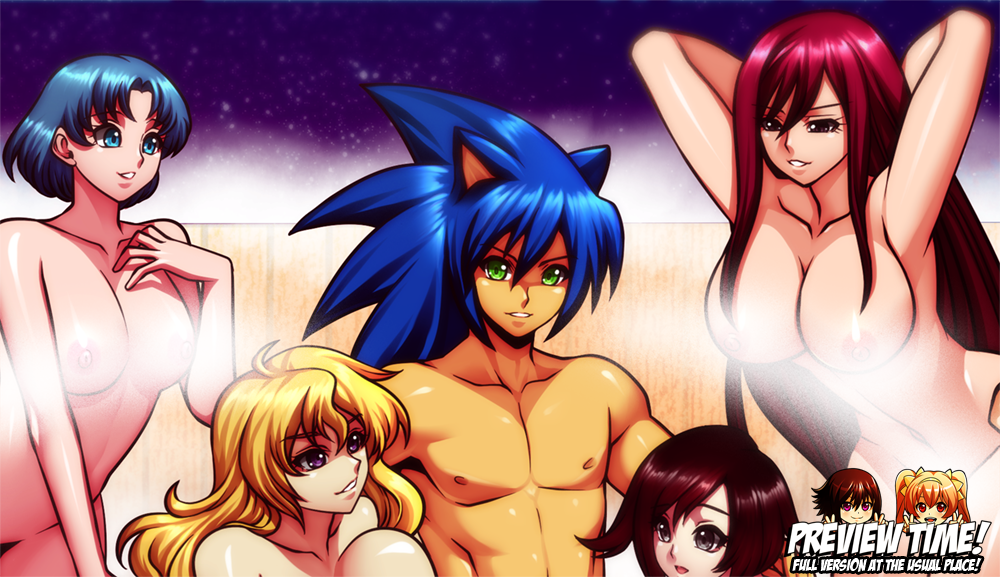 COMMISSION: MS88's Harem (Group 5) by jadenkaiba