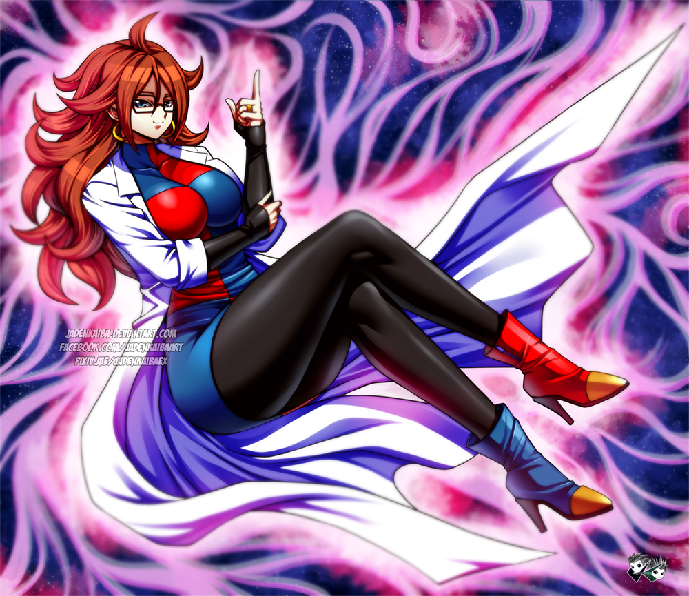 Dragonball fighter z android 21 lab coat version by - Dragon ball z 21 ...