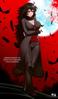 COMMISSION: Remnant Champion Raven Branwen