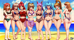 COMMISSION:Volleyball Bikini Players