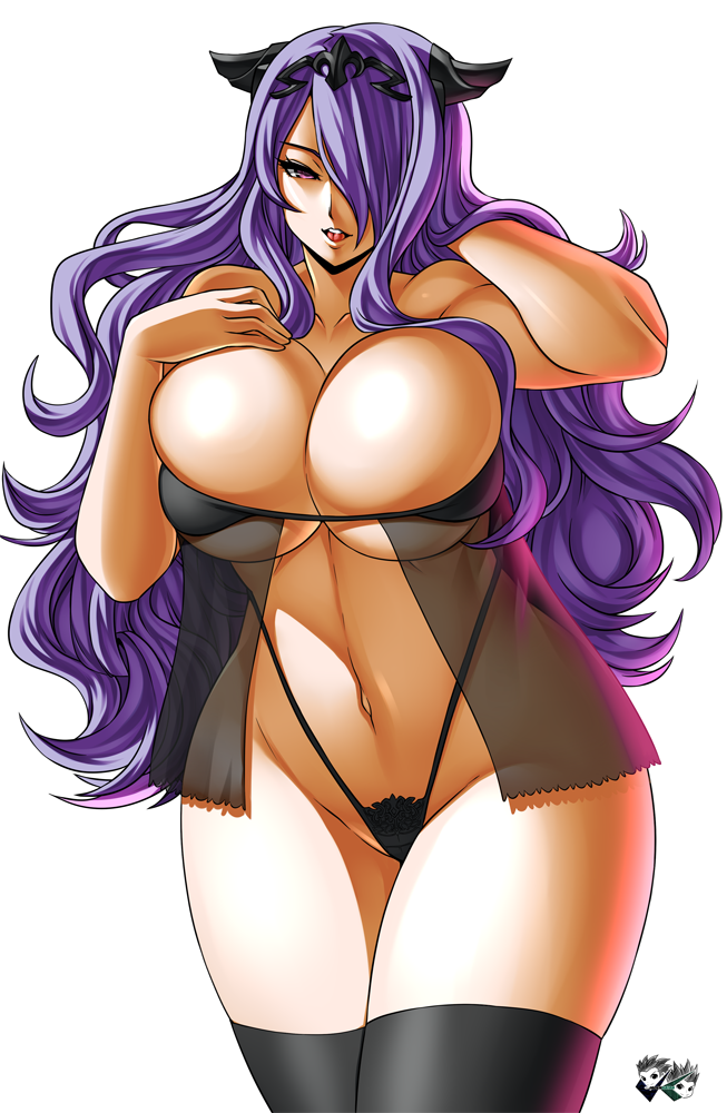 COMMISSION: Camilla Lingerie plus more by jadenkaiba