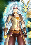 COMMISSION : Mastered UI - Yang Xiao Long
