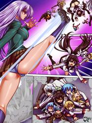 ONE SHOT MANGA COMMISSION: Inner Moka's Attack by jadenkaiba