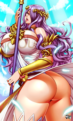 COMMISSION: Camilla Cosplays Palutena by jadenkaiba