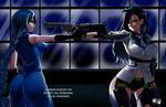 COMMISSION:  Blue Rose VS Python