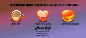 Ad work : Hazel Cafe