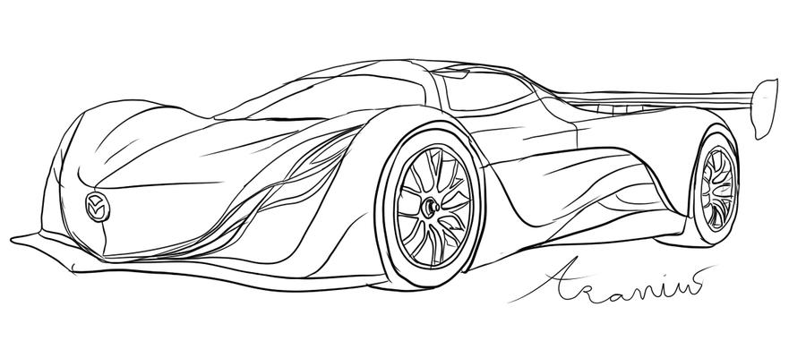 mazda furai by aravius5 on deviantart