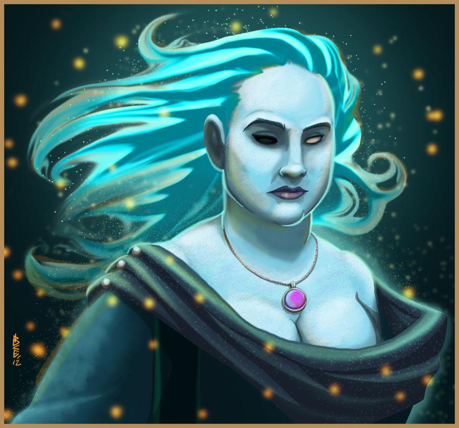 Blue Lady II by NuisanceBearEull
