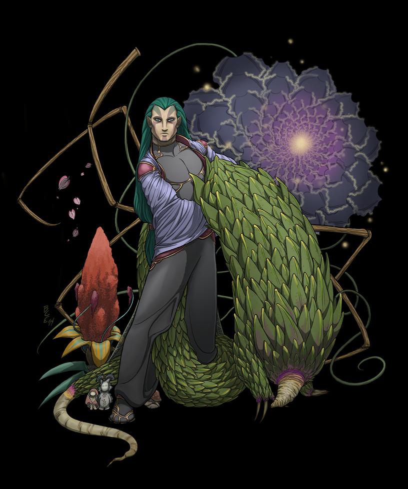Sentient Plants by NuisanceBearEull