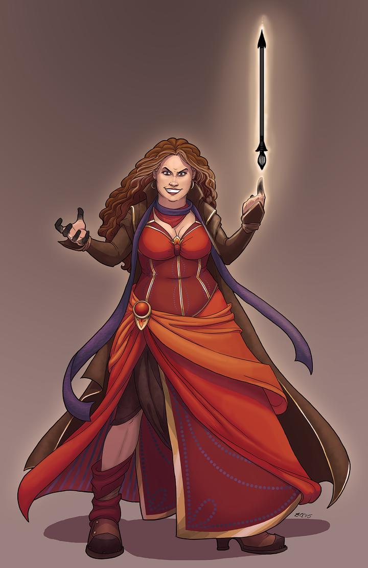 Maria - Pathfinder Edition by NuisanceBearEull