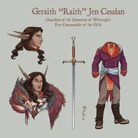 Geraith Jen Casalan by NuBearEull