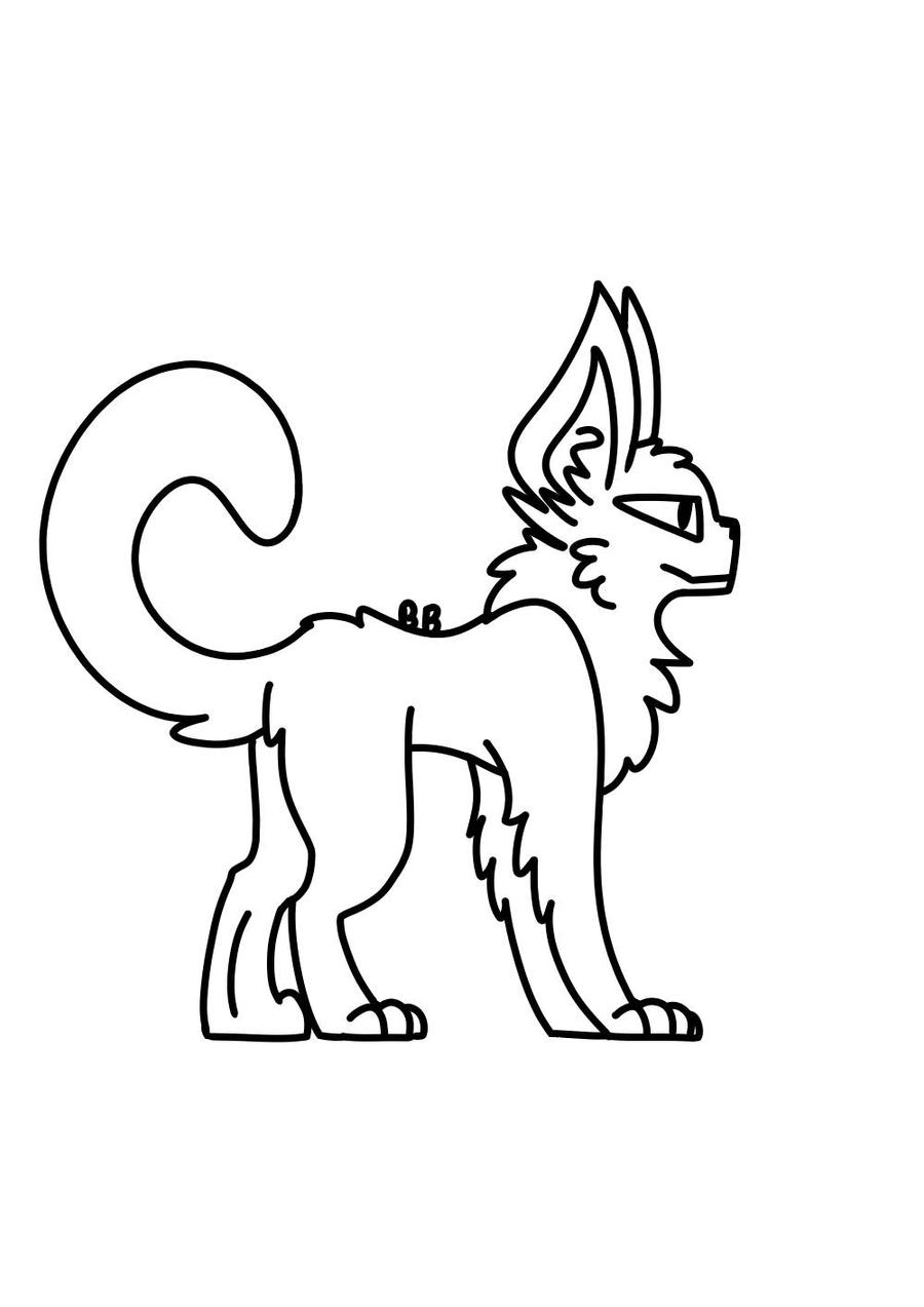 Free To Use Cat Base By Bitterbs On Deviantart