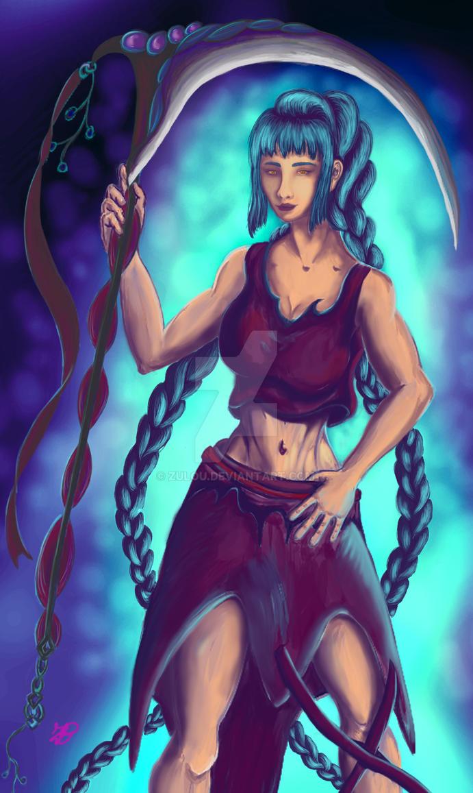 reaper  girl by zulou