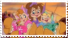 Chipettes stamp by angeldea12