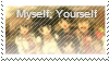 Myself Yourself Stamp by angeldea12