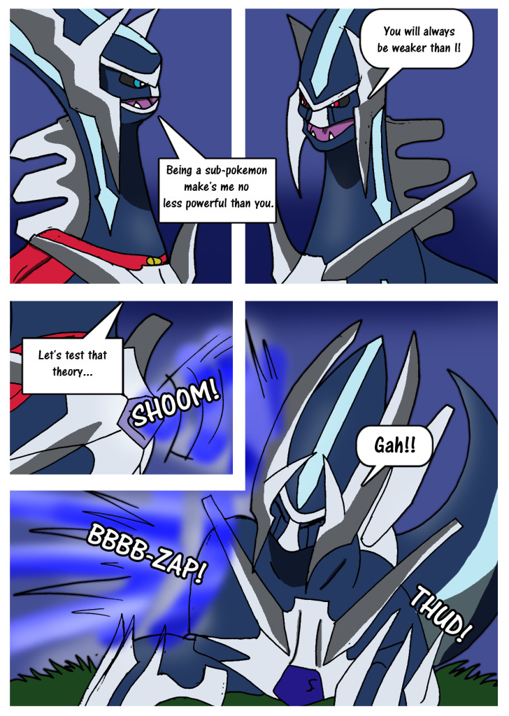 Dialga Into Pika Dialga Page 1 By Threehorn On Deviantart