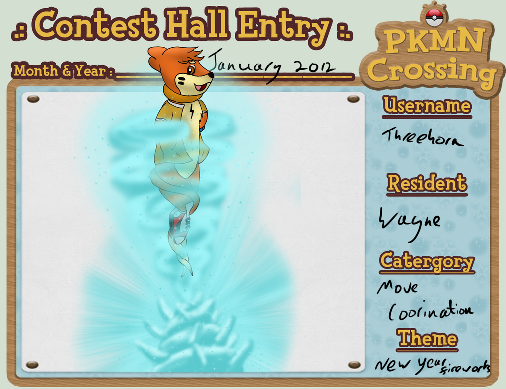 Icy New Year -PMNC contest Jan by Threehorn