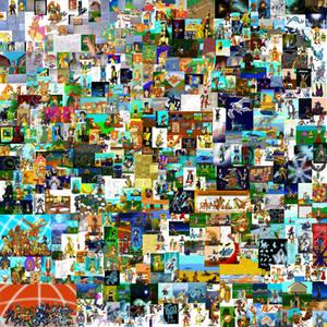 1000th - Mega Collage