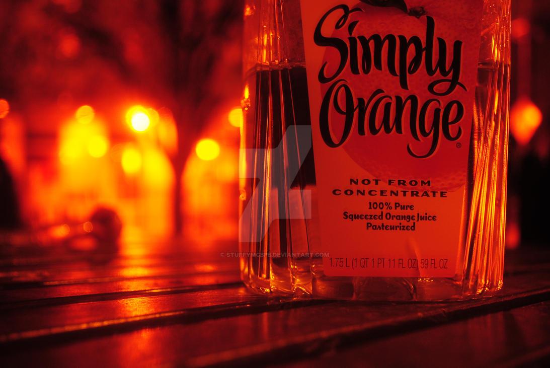 Simply Orange by StuffyMcbPb