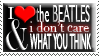Beatles Stamp by specklify