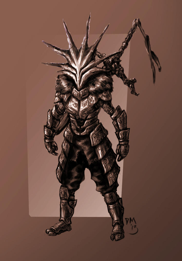 Wood Knight Concept by dark-maggot