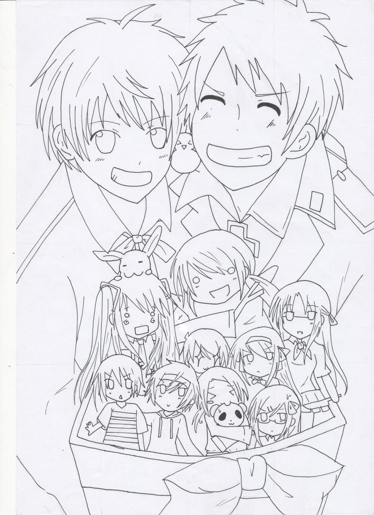 Hetalia Crossover by AerisSetsuna on DeviantArt