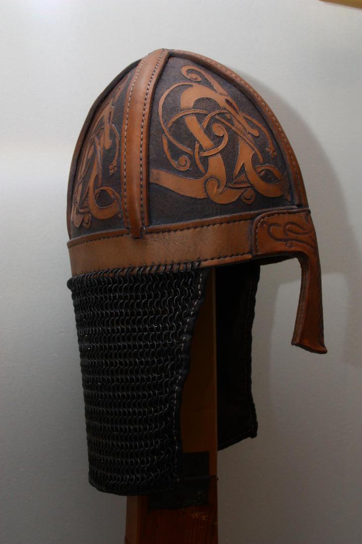Viking helmet side by jwallo