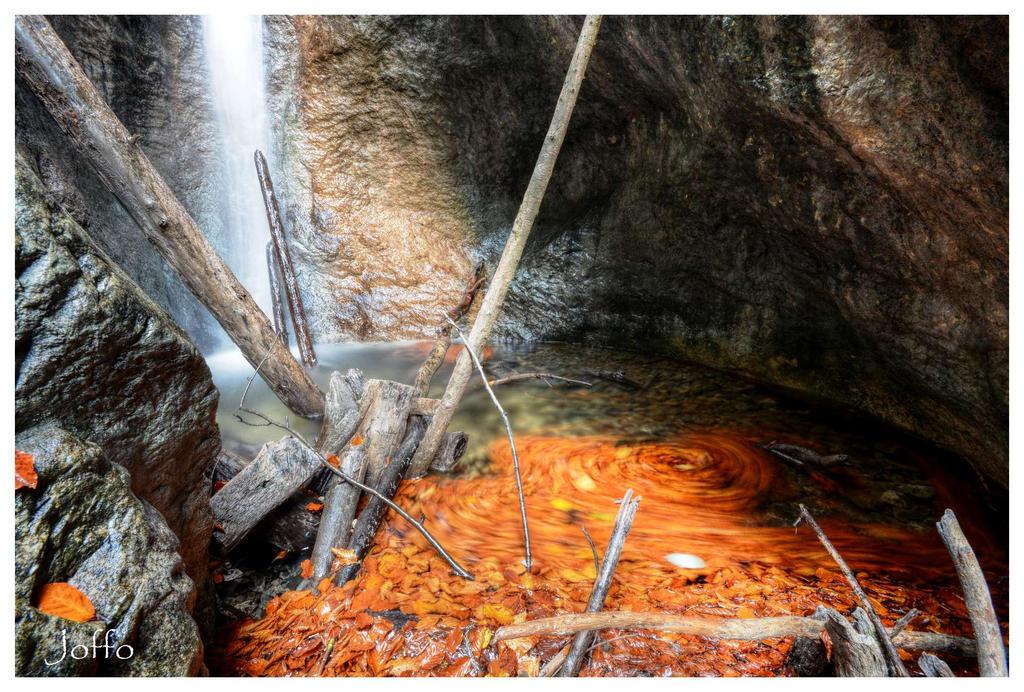 Autumn waterfalls by joffo1