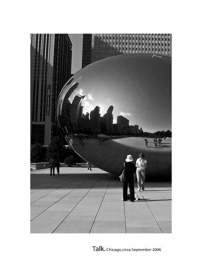Chicago: Talk by timmacauley