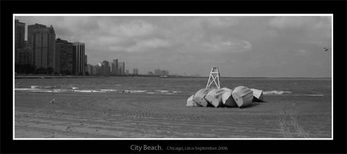 Chicago: City Beach by timmacauley