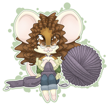 Mouse Chibi by firepixie
