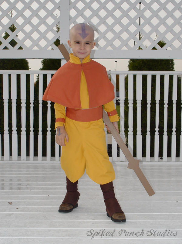 Mini Avatar Aang by prismkitty