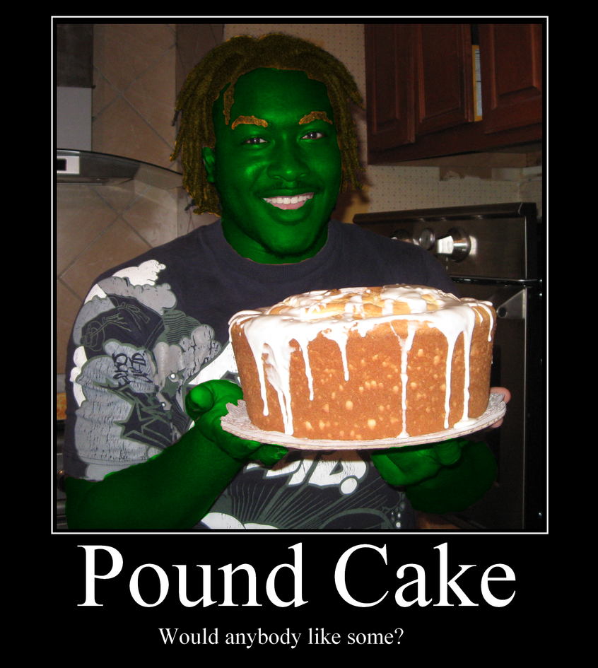 Blanka Makes Pound Cake
